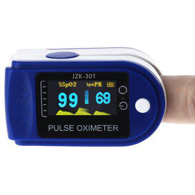JZK - 301 OLED Instant Read Digital Fingertip Pulse Oximeter