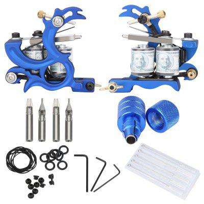 Mini Tattoo Kit Shader Machine Gun Needle Grips
