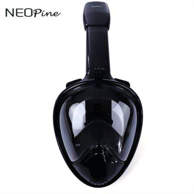 NEOpine Underwater Dry Snorkeling Anti Fog Full Face Mask Set