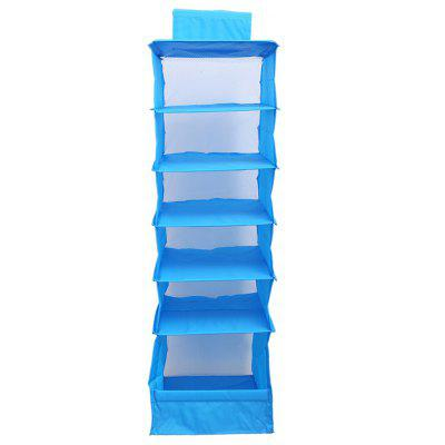 Folding Hanging 6 Compartments Closet Organizer