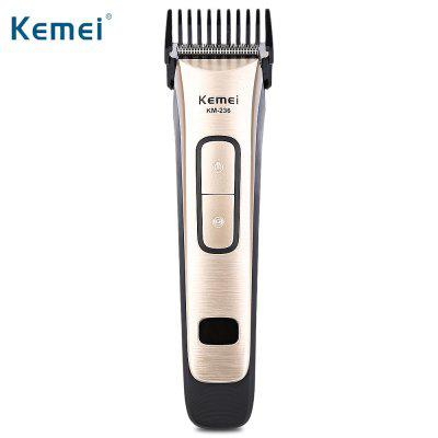Kemei KM - 236 Universal Voltage Electric Hair Trimmer Clipper