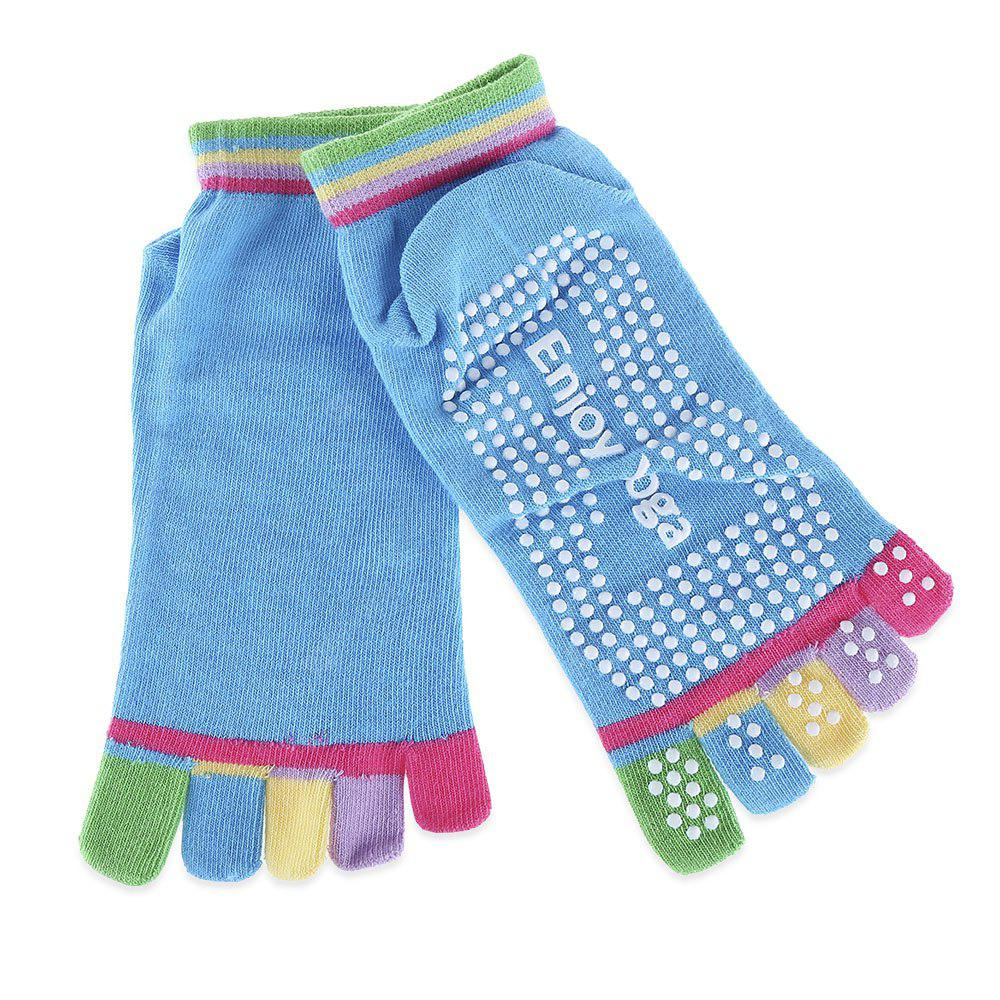 Yoga Socks Non-slip Skid with Toe Grips