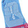 Yoga Socks Non-slip Skid with Toe Grips - LAKE BLUE
