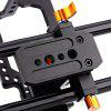 WEIHE DSLR Camera Rig Cage for A7S / A7 / A7R / a7 - BLACK AND ORANGE