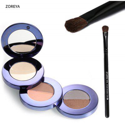 ZOREYA Soft Horse Hair Medium Eyeshadow Brush for Beauty