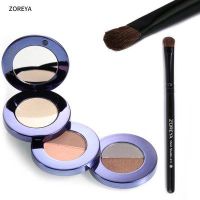 ZOREYA Soft Horse Hair Short Eyeshadow Brush for Beauty