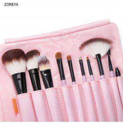 ZOREYA 10Pcs Makeup Tools Set Foundation Brush Kit Beauty Brush