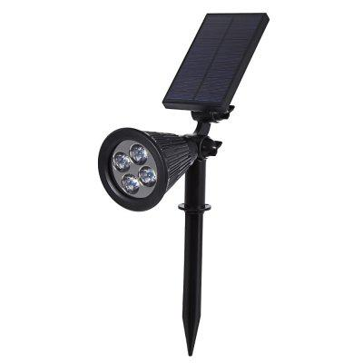 Solar Powered Spotlight
