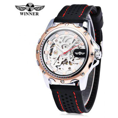 Winner Male Auto Mechanical Luminous Watch