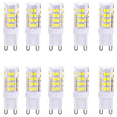 Lightme 10PCS G9 AC 110V 3W SMD 2835 LED Bulb Light