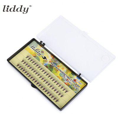 LIDDY Handmade Single Cluster 10 Dot Eyelashes 10 / 12mm