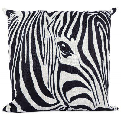 45 x 45CM Animal Zebra Pillow Cushion Cover