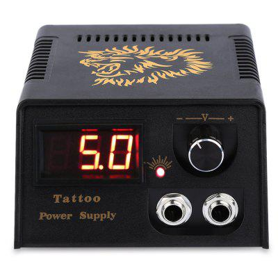 LED Digital Tattoo Power Supply for Foot Pedal Switch Machine