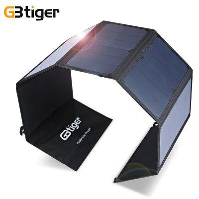 GBtiger 40W Dual Outputs Solar Charger Panel Folding Bag