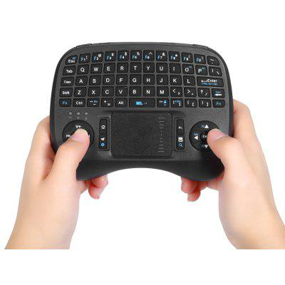iPazzPort KP - 810 - 21T 2.4GHz Mini Wireless QWERTY Keyboard with Touchpad