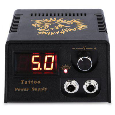 LED Digital Tattoo Power Supply para Pedal interruptor máquina