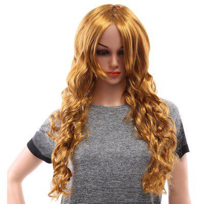 Long Wavy Blonde Wigs for Window Models Cosplay Party