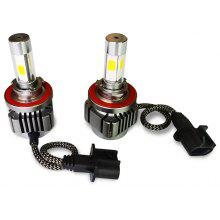 2pcs H13 36W 4800LM COB Car Vehicle LED Headlight