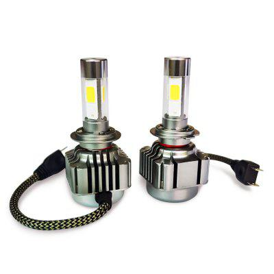 2pcs H7 40W4800LM COB Car Vehicle LED Headlight