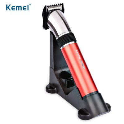 Kemei KM - 610 Rechargeable Hair Clipper Beard Trimmer