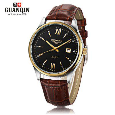 GUANQIN GQ80019 Male Quartz Watch