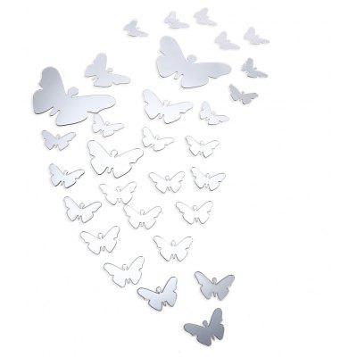Mirror Acrylic 3D Butterfly Wall Decals Home Decoration