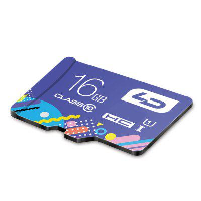 LD Colorful Edition 16GB Micro SDHC Memory CardMemory Cards<br>LD Colorful Edition 16GB Micro SDHC Memory Card<br><br>Memory Card Type: Micro SDHC<br>Package Contents: 1 x LD Colorful Edition Micro SDHC Memory Card<br>Package size (L x W x H): 12.50 x 7.50 x 1.00 cm / 4.92 x 2.95 x 0.39 inches<br>Package weight: 0.028 kg<br>Product size (L x W x H): 1.50 x 1.10 x 0.05 cm / 0.59 x 0.43 x 0.02 inches<br>Product weight: 0.002 kg<br>Read Speed: 10 - 12MB/s<br>Support 4K Video Recording: No<br>UHS Speed Class: UHS-1<br>Write Speed: 20 - 30MB/s