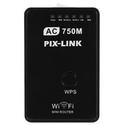 PIX - LINK AC01 750Mbps Dual Band 2.4GHz / 5GHz AP WiFi Router Repeater