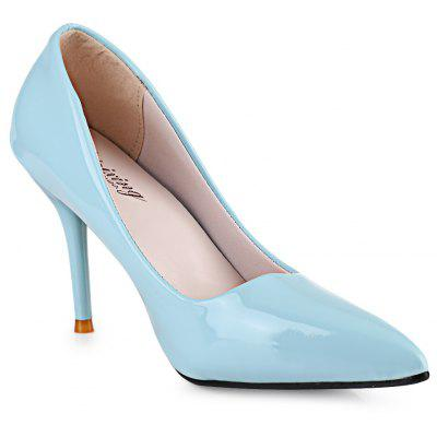 Pointed Toe Ladies Thin High Heel ShoesWomens Pumps<br>Pointed Toe Ladies Thin High Heel Shoes<br><br>Available Size: 35, 36, 37, 38, 39<br>Heel Height: 10 cm / 3.94 inch<br>Heel Type: Stiletto Heel<br>Occasion: Casual<br>Outsole Material: Rubber<br>Package Contents: 1 x Pair of Women Thin High Heel Shoes<br>Pumps Type: Basic<br>Season: Spring/Fall, Summer<br>Shoe Width: Medium(B/M)<br>Toe Shape: Pointed Toe<br>Toe Style: Closed Toe<br>Upper Material: PU<br>Weight: 0.5000kg