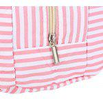 Guapabien Convenient Insulation Bottle Preservation Bento Lunch Bag - PINK STRIPES