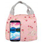 Guapabien Convenient Insulation Bottle Preservation Bento Lunch Bag - CILIEGIA