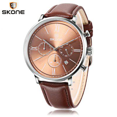 Skone 9456EG Male Quartz Watch