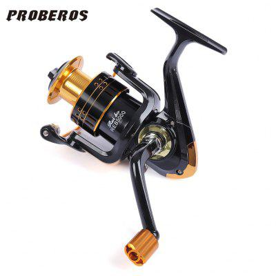 Proberos 5.2:1 12 Ball Bearings Metal Spool Spinning Fishing Reel