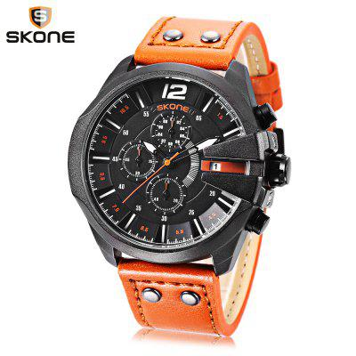 Skone 9430EG Male Quartz Watch