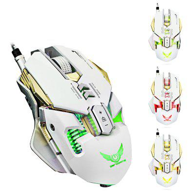 ZERODATE X300 Programmable Wired Gaming Mouse