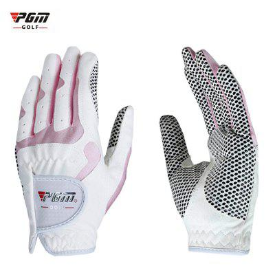 PGM Paired Women Outdoor Fiber Cloth Soft Golf Gloves