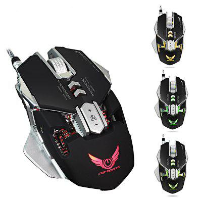 Buy BLACK ZERODATE X300 Programmable Wired Gaming Mouse for $15.25 in GearBest store