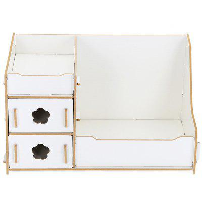 DIY Wooden Cosmetic Storage Box