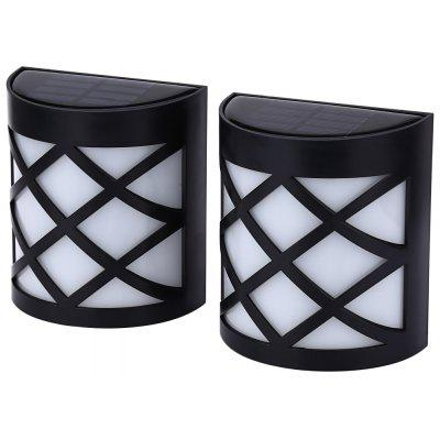 2PCS LED Fence Lamp