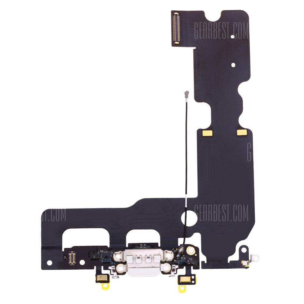 WHITE USB Charging Port Flex Cable Ribbon for iPhone 7 Plus