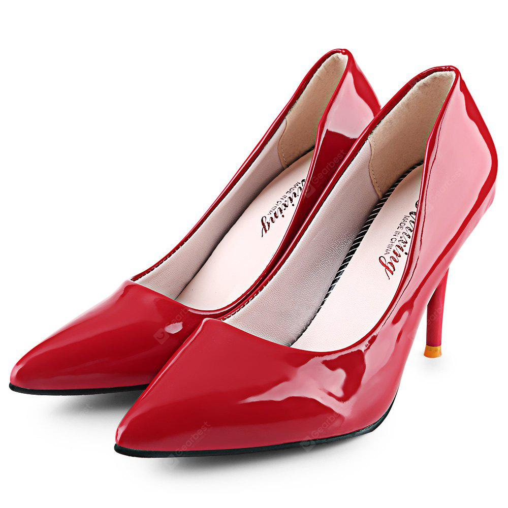 Pointed Toe Ladies Thin High Heel Shoes