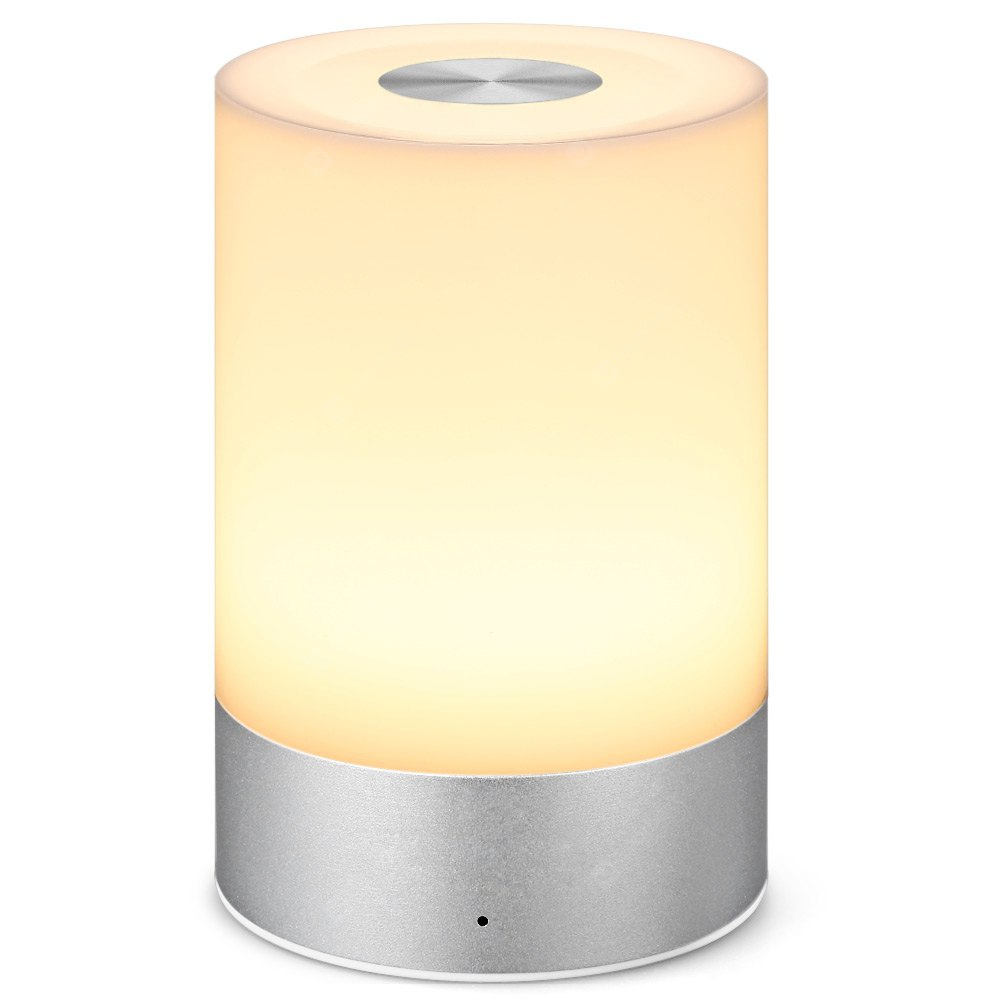 Smart Bedside Lamp RGB Dimmable LED Atmosphere Lamp