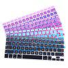 Big Character Graduated Color Laptop Keyboard Protective Film - BLUE