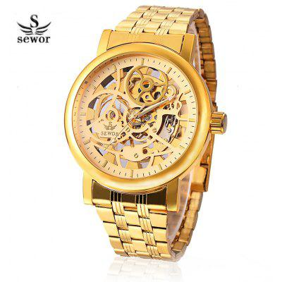 SEWOR SW085 Men Mechanical Hand Wind Watch