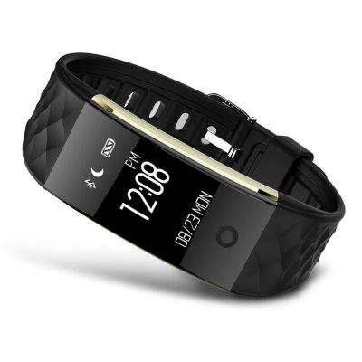 S2 Intelligent Heart Rate Monitor Smart BraceletSmart Watches<br>S2 Intelligent Heart Rate Monitor Smart Bracelet<br><br>Band material: TPU<br>Battery Capacity: 90mAh<br>Battery Type: Lithium Polymer Battery<br>Bluetooth Version: Bluetooth 4.0<br>Case material: PC<br>Compatability: Android 4.3 / iOS 7.0 and above system<br>Compatible OS: IOS, Android<br>Functions: Remote music, Sedentary reminder, Sleep management, Pedometer, Find your phone, Distance recording, Camera remote control, Alarm Clock<br>Package Contents: 1 x Smart Bracelet, 1 x English and Chinese Manual<br>Package size (L x W x H): 11.00 x 7.50 x 5.50 cm / 4.33 x 2.95 x 2.17 inches<br>Package weight: 0.1220 kg<br>People: Female table,Male table<br>Power: Built-in Battery<br>Product size (L x W x H): 22.00 x 2.00 x 1.00 cm / 8.66 x 0.79 x 0.39 inches<br>Product weight: 0.0210 kg<br>Screen: Yes<br>Screen type: OLED<br>Shape of the dial: Rectangle<br>Standby time: 5 - 10 Days<br>The band width: 1.6 cm / 0.63 inches<br>The dial diameter: 2 cm / 0.79 inches<br>The dial thickness: 1.2 cm / 0.47 inches<br>Waterproof: Yes<br>Waterproof Rating: IP67<br>Wearable length: 14 - 20 cm / 5.51 - 7.87 inches