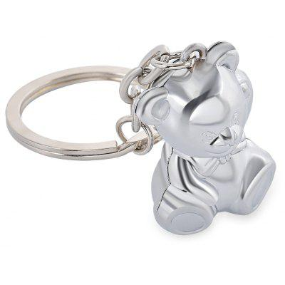 Zinc Alloy Cute Dog Design Keychain Keyring Gift