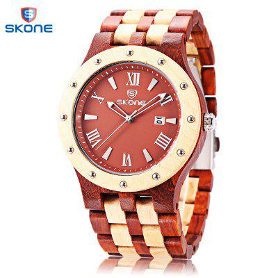 SKONE 7399BG Men Quartz Watch