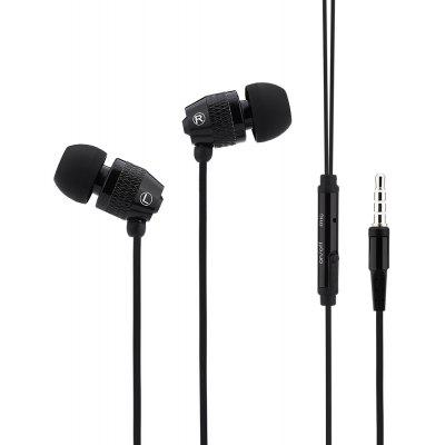 3.5MM In-ear Metal Figure Earphones Headphones