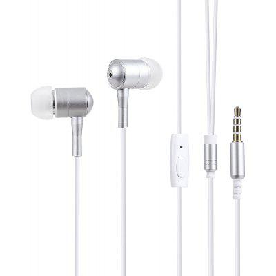 3.5MM Metal HiFi Stereo Music In-ear Headphones Earbuds