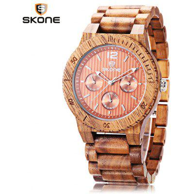 SKONE 7401EG Men Quartz Watch
